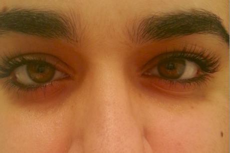 Want a smokey, beaten up eye? Apply some of Napoleon Perdis' eye liner, then blink! BAM, AND YOU LOOK STUPID.