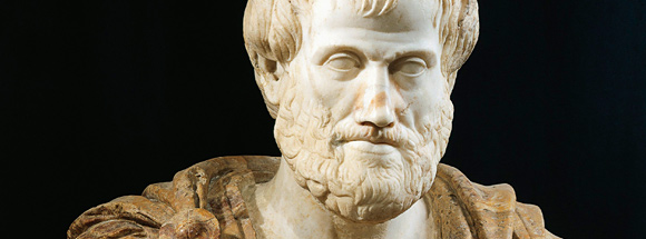 Aristotle - he's as real to me as anyone else.