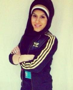 Layla, the hijabi personal trainer.