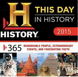 History desk calendar