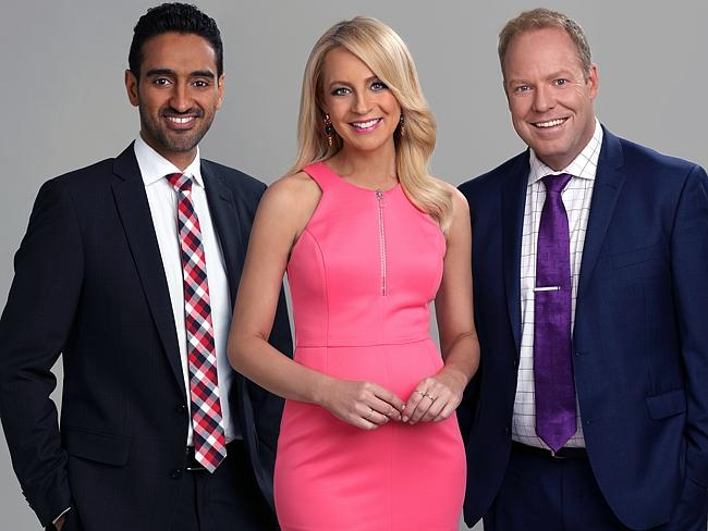 Waleed with his co-hosts