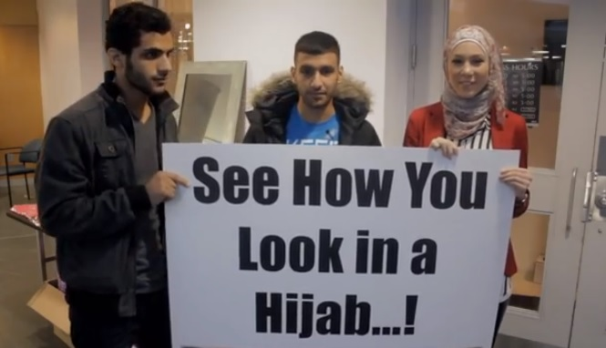 see how you look in hijab