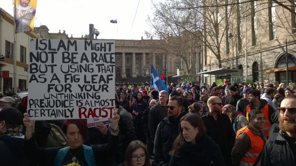 Reclaim Australia No Room for Racism July 2015 1
