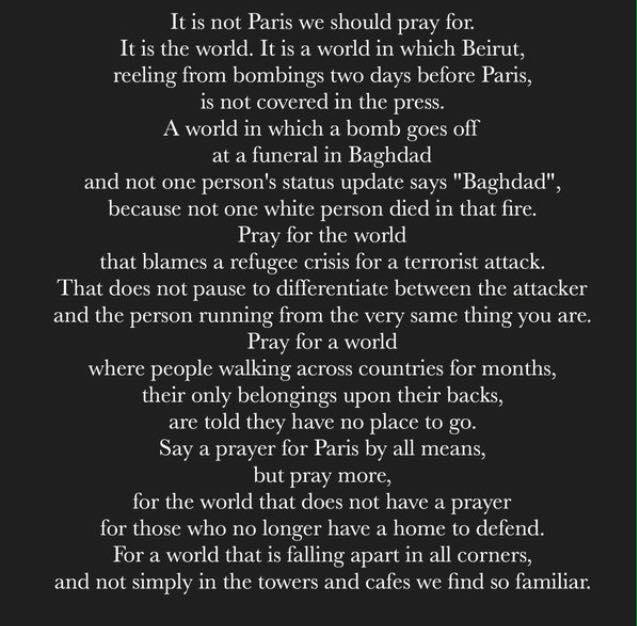 PrayforParisPoem