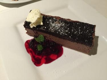 Dessert at the Pappagallo