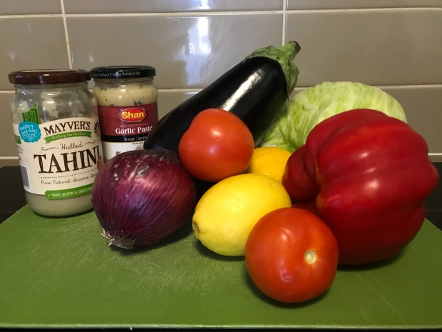 Healthy Tahini vegetable recipe