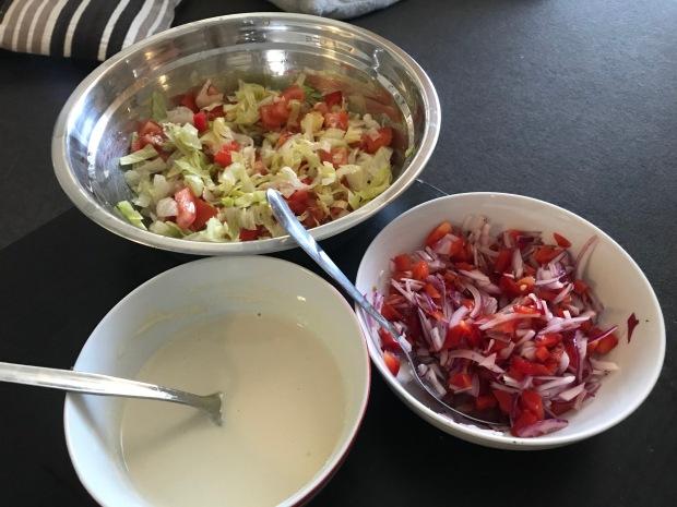 Tahini sauce recipe salad recipe